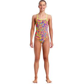 Funkita Strapped In One Piece Swimsuit Girls Bound Up